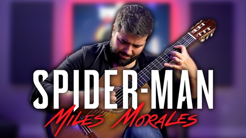 SPIDER-MAN Miles Morales (PS5) Main Theme On Guitar