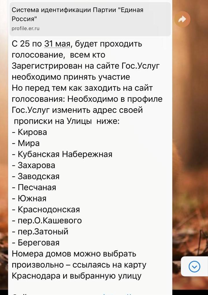Выборы выборы...