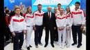 Путин на Международном форуме «Россия – спортивная держава».