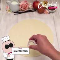 id_48754 Эффектный яблочный пирог 🍎❣😋  Автор: Chef Club  #gif@bon