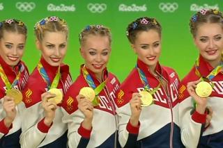 Олимпийские медали сборной России