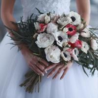 СВАДЕБНЫЕ цветы ● Улан-Удэ Букет невесты 03