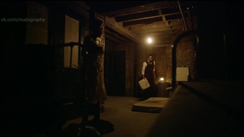 Джульет Райлэнс Juliet Rylance голая в сериале Больница Никербокер The Knick 2014 Сезон 1 Серия 9 s01e09 1080i