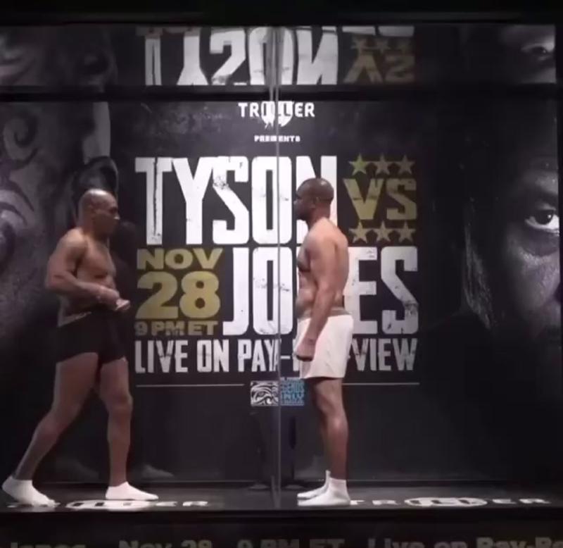 Битва взглядов: Майк Тайсон vs Рой Джонс [Рифмы и Панчи]
