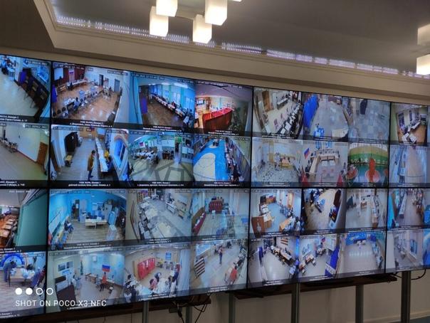 Центр общественного наблюдения работает в дни выбо...
