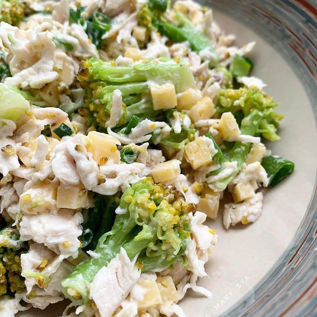 Вкусный салат с брокколи