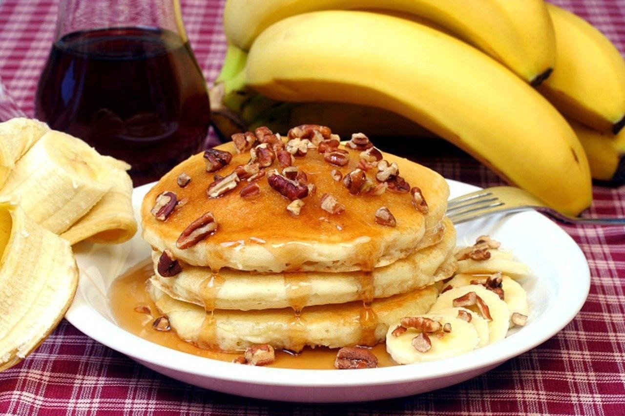 Овсяные оладушки к завтраку