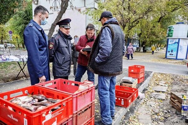 В Самаре торговцам стихийного рынка на ул. Стара-З...