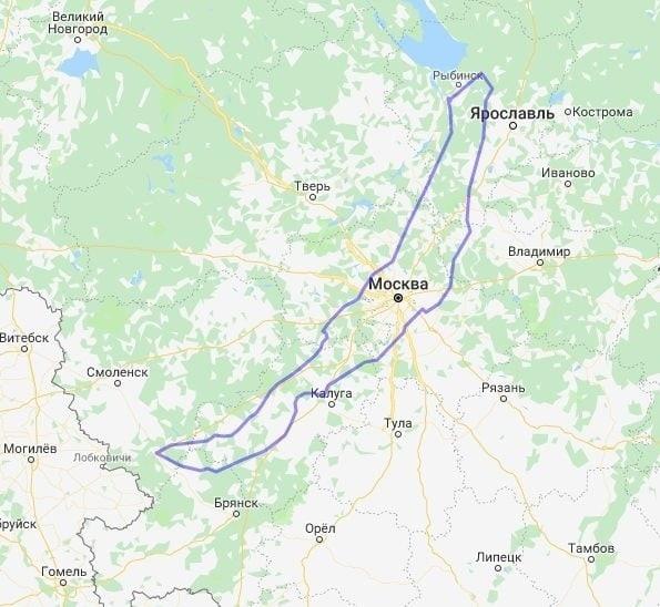Размеры Байкала по сравнению с городами и странами...