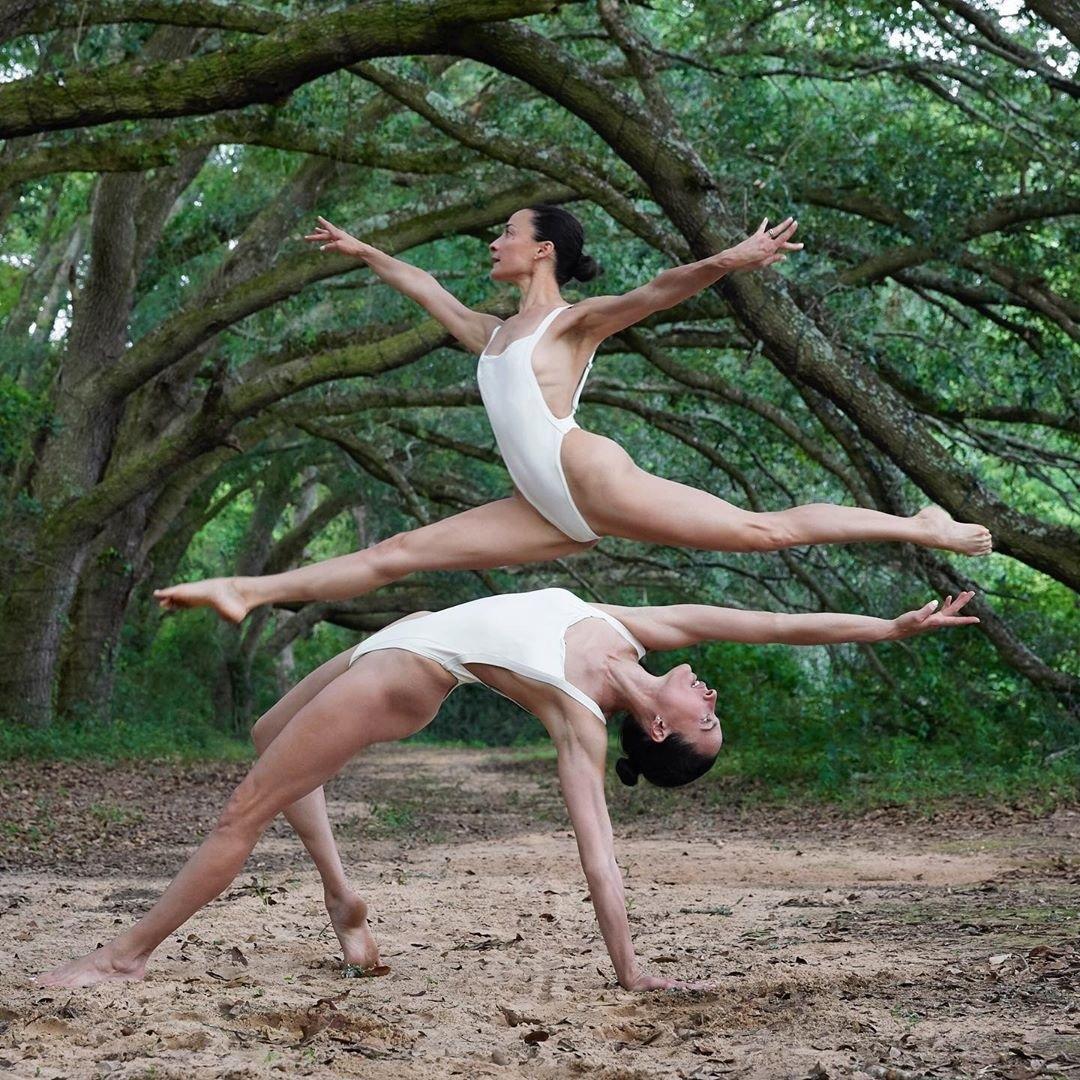 Невероятные фотографии, которые показывают насколько гармоничны две сестры, увлекающиеся спортом