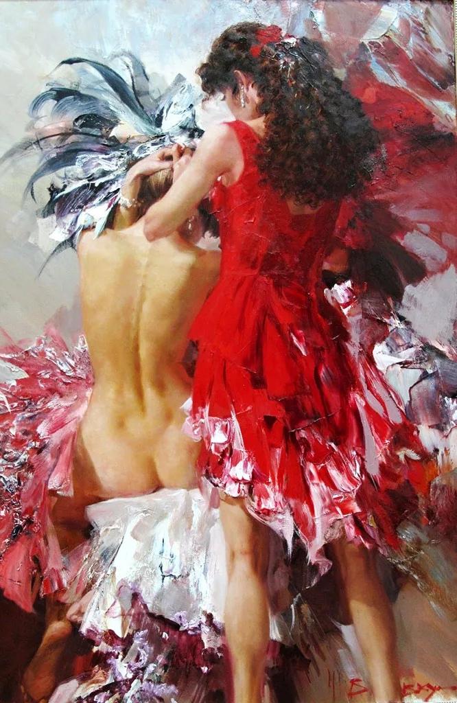 Потрясающий русский художник Иван Славинский.