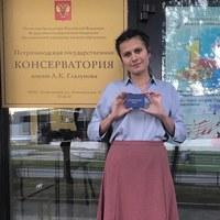 Личная фотография Ани Красовской