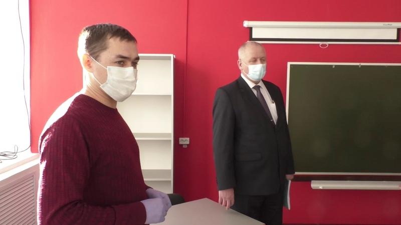 Аскизский лицей-интернат принимал делегацию из Правительства РХ 19.01.21
