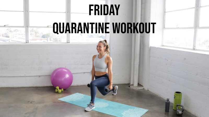 FRIDAY at Home Workout Plyometric HIIT Superset Workout