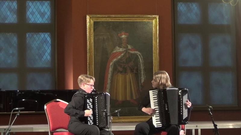 Didžioji muzikų šventė Akordeonų duetas