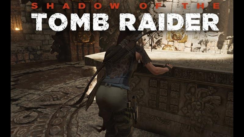 Shadow of the Tomb Raider первое прохождение и сразу сложный уровень на ПК в 4к часть 15
