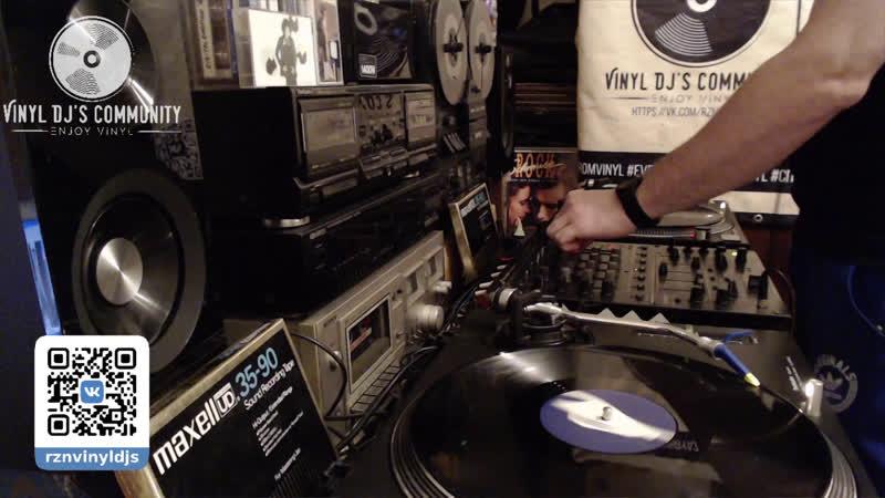 DJ YURA ONEGIN VINYL HOME LIVE MIX 12.01.2020
