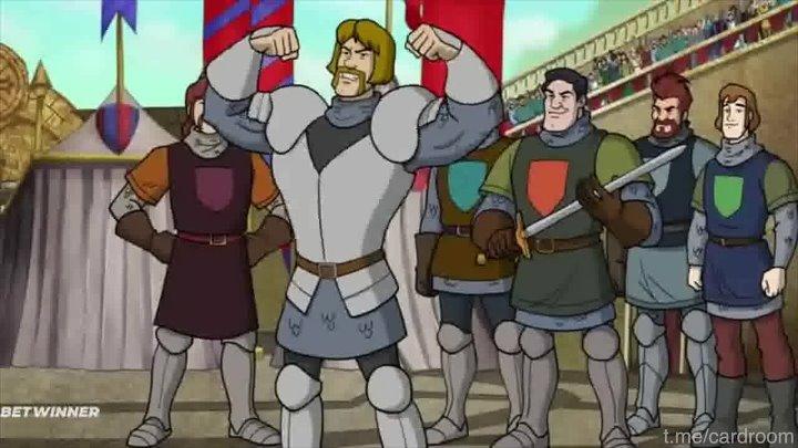 Скуби Ду При Дворе Короля Артура 2021