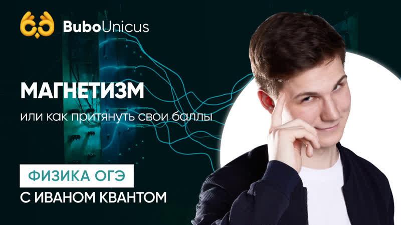 Магнетизм ФИЗИКА ОГЭ Иван Квант