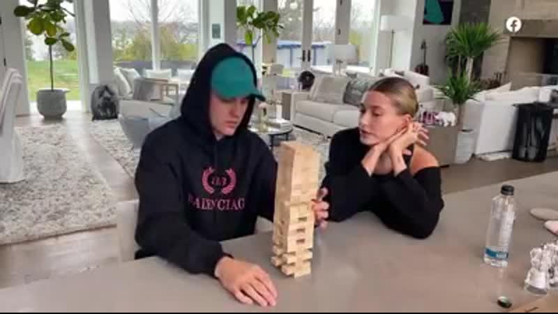 Jenga with the Biebers