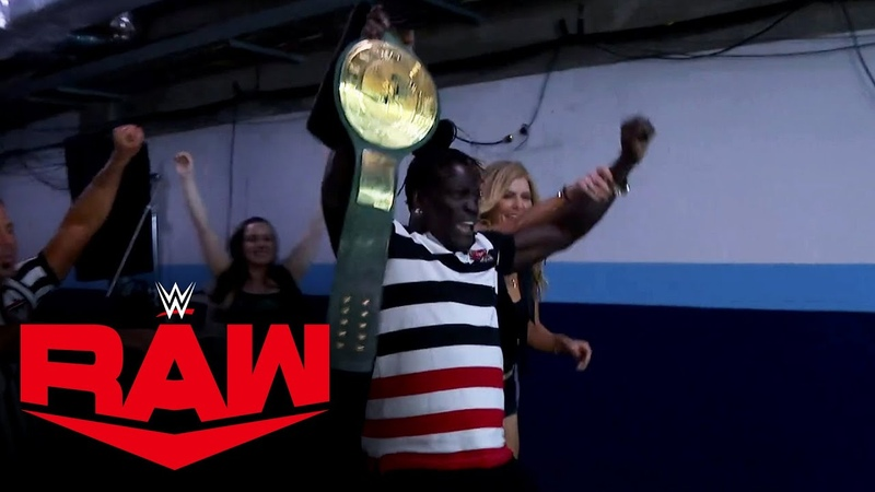 R Truth regains the 24 7 Title with help from The Boogeyman Raw Jan 4 2021