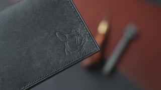 Ровный ручной шов на коже / Hand Stitching Leather