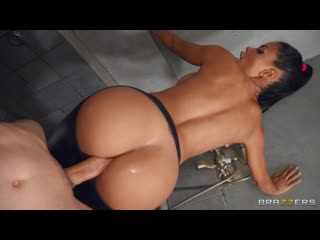 Canela Skin - Torn Tights Anal Shower [All Sex, Hardcore, Blowjob, Gonzo]
