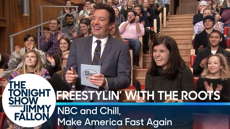 Freestylin with The Roots NBC and Chill, Make America Fast Again