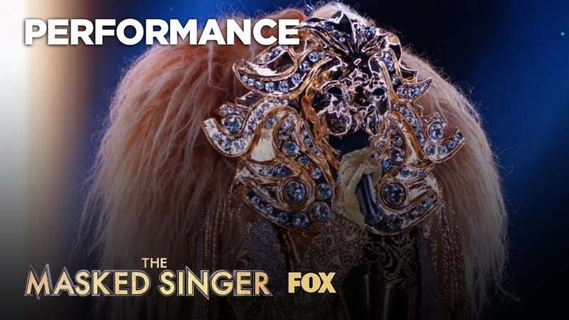 The Lion Performs Diamond Heart Season 1 Ep 7 THE MASKED SINGER
