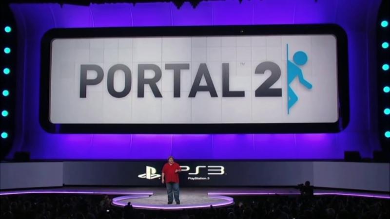 E3 2010 Portal 2 surprise announcement at Sony's press conference