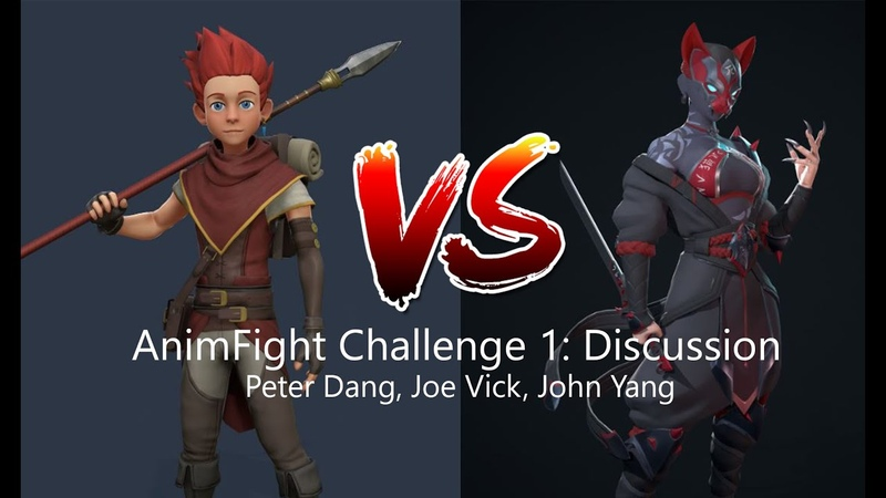 Animating a Fight Scene AnimFight Challenge 1 Discussion w Peter Dang Joe Vick and John Yang