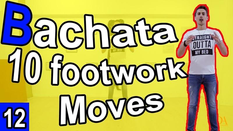 Bachata Tutorial Footwork 12 10 Basic Steps in Bachata | MariusElenaBachata 2019