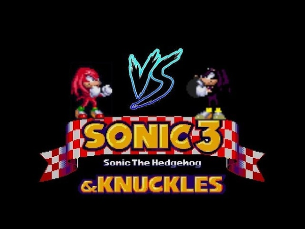 Knuckles The Echidna VS Bomber The Echidna