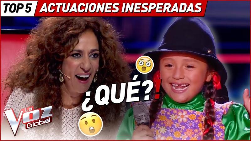 NADIE se esperaba estas ASOMBROSAS actuaciones en La Voz Kids