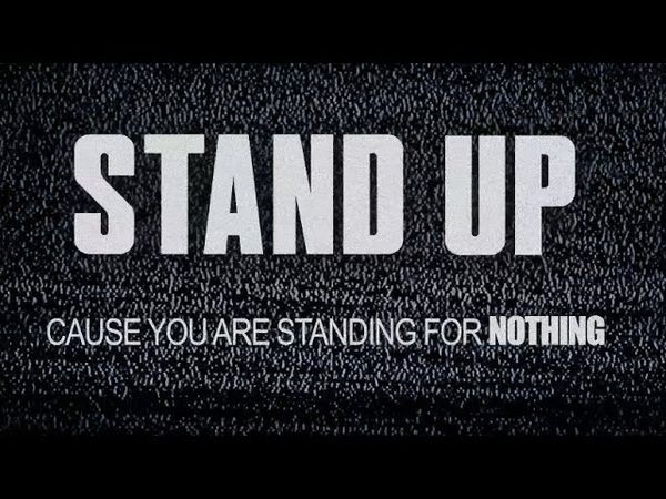 Stand Up Official Lyrics Tom Morello x Shea Diamond x Dan Reynolds x The Bloody Beetroots