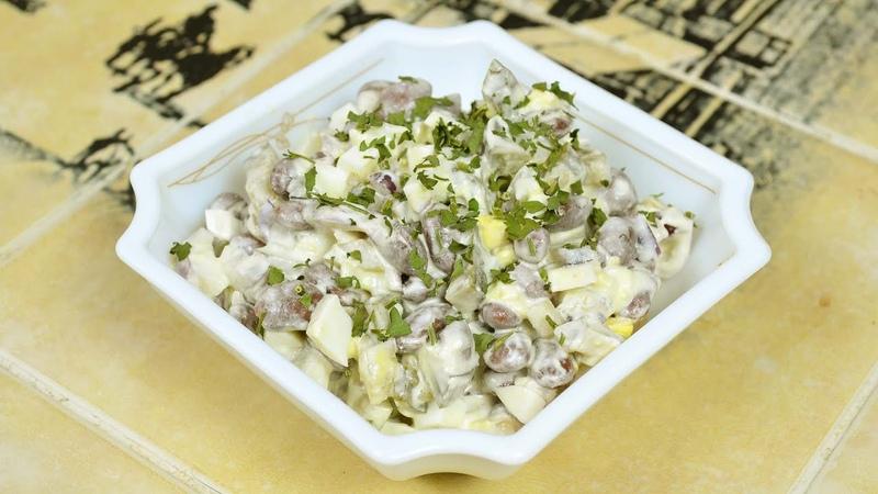 ТОП- 3 Самых быстрых и вкусных салатов! Готовятся за 5 МИНУТ!