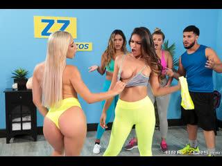 Brazzers - Working Out Their Anger / Abella Danger & Katana Kombat