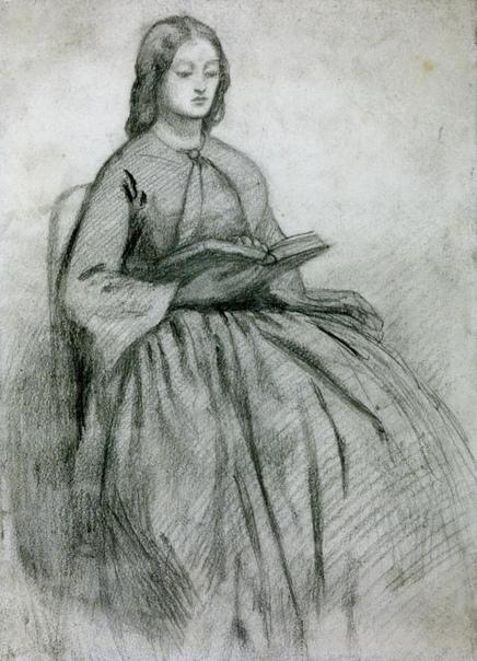 История любви Данте Россетти и Элизабет Сиддал в картинах