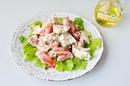 Куриный салат с йогуртом