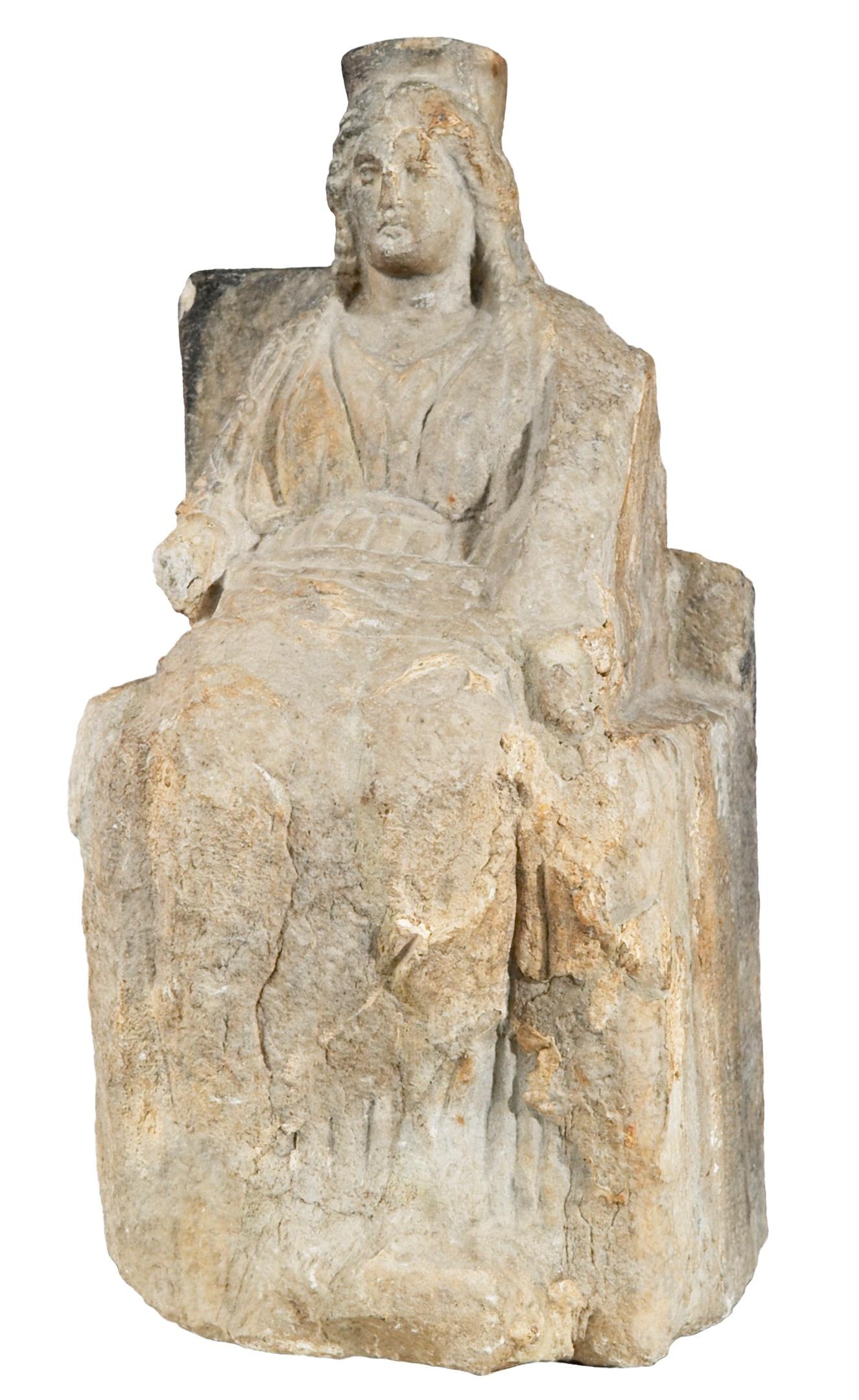 Статуя богини судьбы Тихе, изображение №1