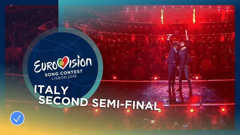 Ermal Meta e Fabrizio Moro Non Mi Avete Fatto Niente LIVE Italy Second Semi Final
