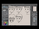 Neil Fontaine - 001 We learn how to draw the most popular expressions in manga