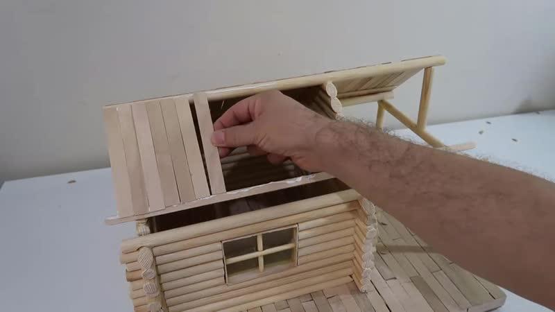 Building a Log Cabin Kütük Ev Nasıl Yapılır Part 2