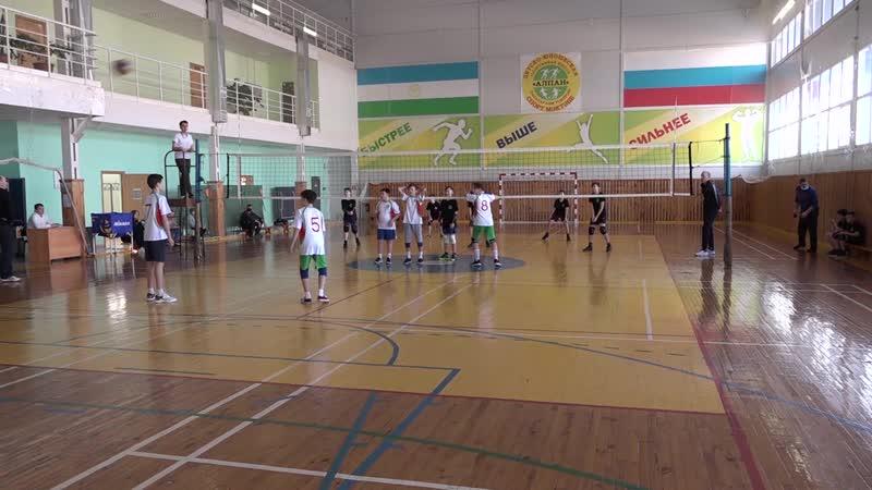 Турнир по волейболу среди школьников ДЮСШ