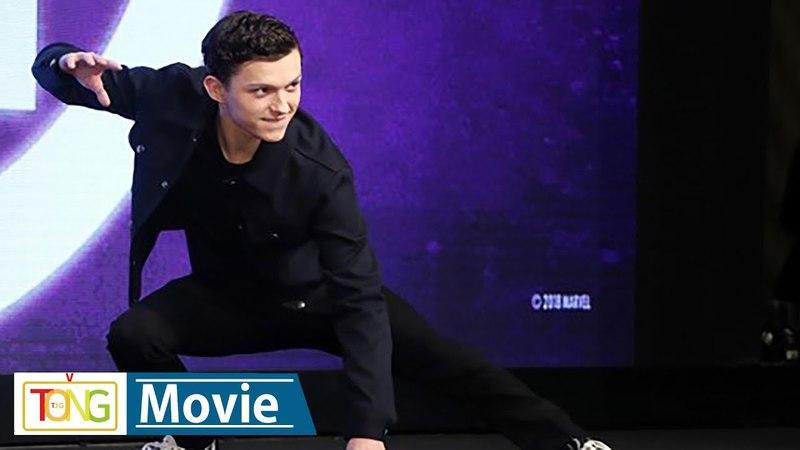 '어벤져스' 톰 홀랜드 스파이더맨 수트 실제로 입으면 매우 불편 Avengers Infinity War Tom Holland