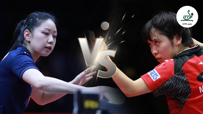 FULL MATCH - Lily Zhang vs Miu Hirano (2019) | ITTF Women's World Cup