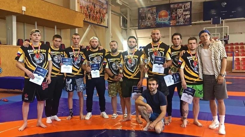 Спортсмены из Дмитрова стали победителями и призерами Кубка России по панкратиону