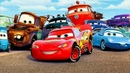 Тачки Молния Маккуин из мультика Lightning McQueen Cars Race на Машинки Кида