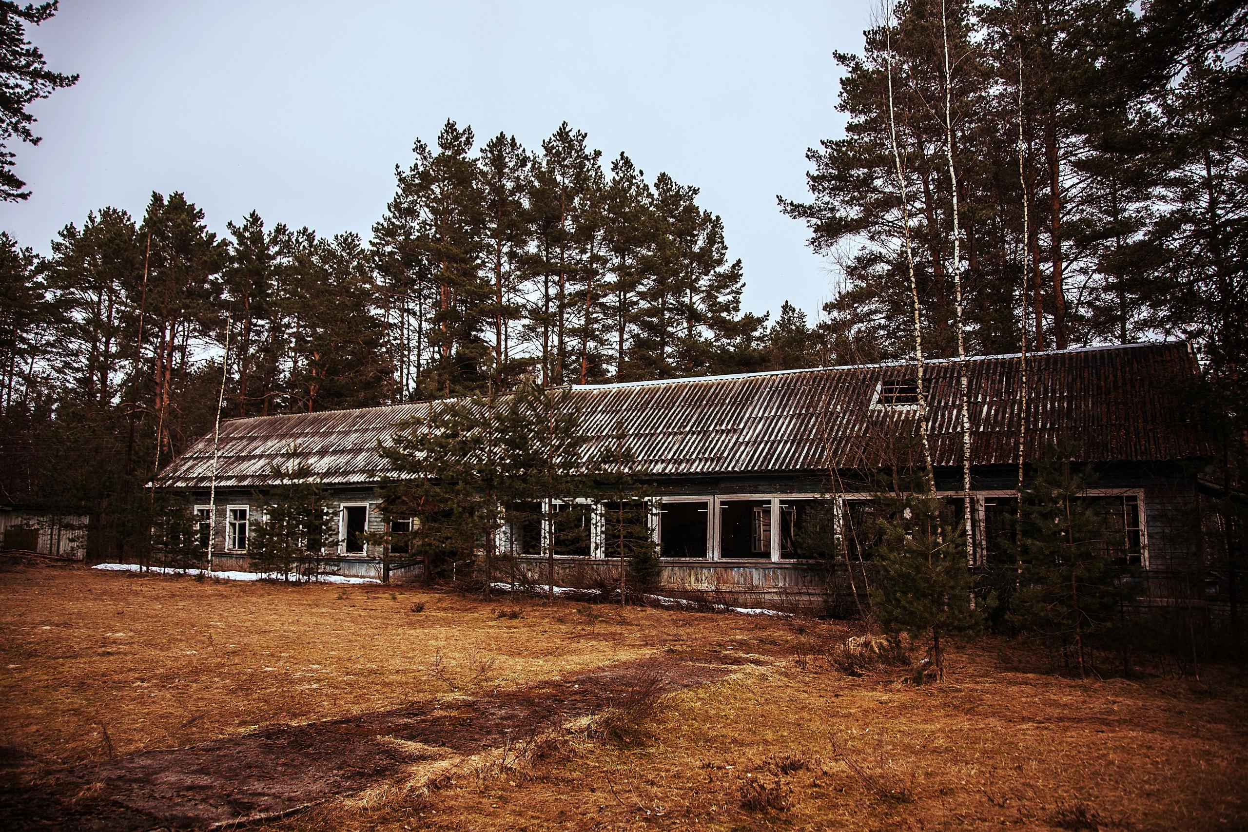 Заброшенный пионерский лагерь Бригантина - Фото