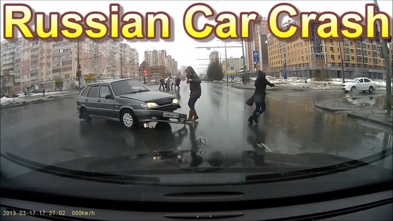Russian Dash Cam Car Crash Compilation 18